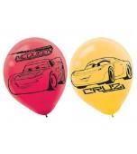 Balloons - Cars 3, 6 pk