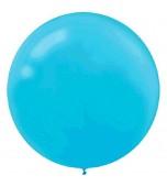 Balloons - Latex 60 cm, Caribbean Blue