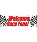 Banner - Giant, Welcome Race Fans