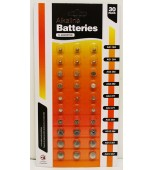 Batteries - Alkaline Button Cell 30 pk