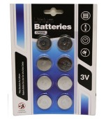 Batteries - Lithium Cell CR2032 8 pk