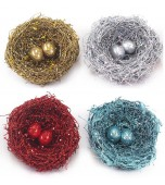 Birds' Nest - Glitter, Assorted