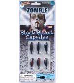 Blood Capsules - Black 6 pk