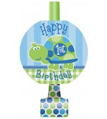 Blowouts - 1st Birthday Turtle 8 pk