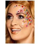 Body Jewellery - Face Gems, Rainbow