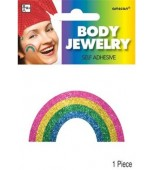 Body Jewellery - Rainbow, Glittered