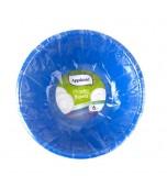 Bowl - Round Blue, Salad 6 pk