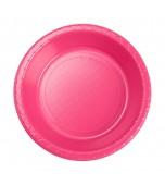 Bowls - Dessert, Round Hot Pink 20 pk