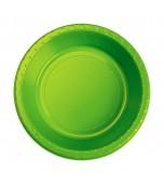 Bowls - Dessert, Round Lime Green 20 pk