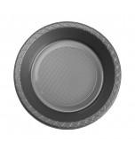Bowls - Dessert, Round Silver 20 pk