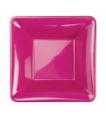 Bowls - Dessert, Square Hot Pink 20 pk
