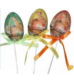 Decorative Picks - Easter Eggs, Bunny Design 5 pk