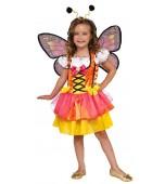 Child Costume - Glitter Butterfly, Orange