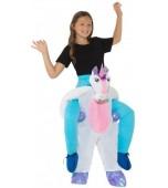 Child Costume - Piggy Back, Unicorn