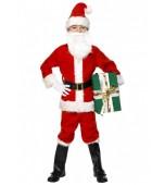 Child Costume - Santa, Deluxe