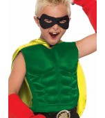 Child Muscle Chest - Superhero, Green