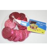 Chocolate Coins, Pink 80 g