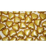 Chocolate Hearts - Gold 1 kg