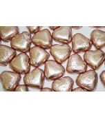 Chocolate Hearts - Pink 1 kg