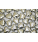 Chocolate Hearts - Silver 1 kg