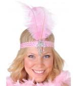 Flapper Headband - Clara Belle, Pink