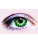 Contact Lenses - Primal, Delightful Enhancer Turqoise