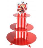 Cupcake Stand - Circus