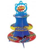Cupcake Stand - Superhero