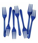 Cutlery - Forks, Blue 20 pk