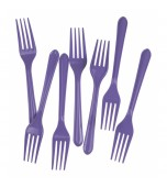 Cutlery - Forks, Lilac 20 pk