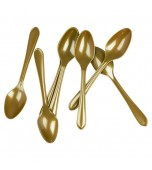 Cutlery - Spoons, Gold 20 pk
