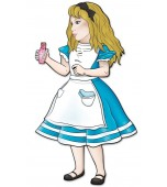 Cutout - Alice in Wonderland, Alice
