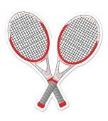 Cutout - Tennis Racquets