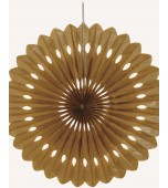 Decorative Fan - Gold