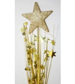 Decorative Pick - Star Solid, Gold