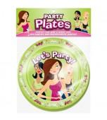 Dessert Plates - Bachelorette Party 8 pk