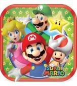 Dessert Plates - Super Mario 8 pk