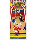 Door Cover - Circus Tent