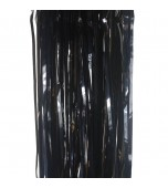 Door Curtain - Foil, Black