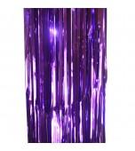 Door Curtain - Foil, Purple