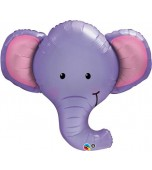 Balloon - Foil Super Shape, Ellie the Elephant