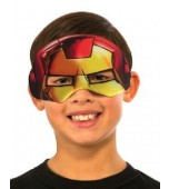 Eye Mask, Plush - Iron Man, Child