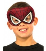 Eye Mask, Plush - Spiderman, Child
