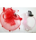 Fascinator - Assorted Styles & Colours