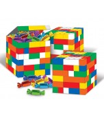 Favour Boxes - Building Blocks 3 pk