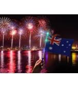 Flag - Flashing LED, Australia