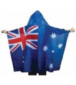 Flag Cape - Australian Flag with Hood