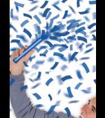 Flutter Fetti - Confetti Batons 6pk, Blue