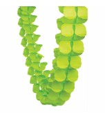 Garland - Honeycomb Paper, Lime Green