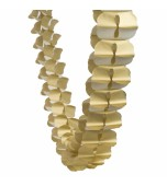 Garland - Honeycomb Paper, Gold